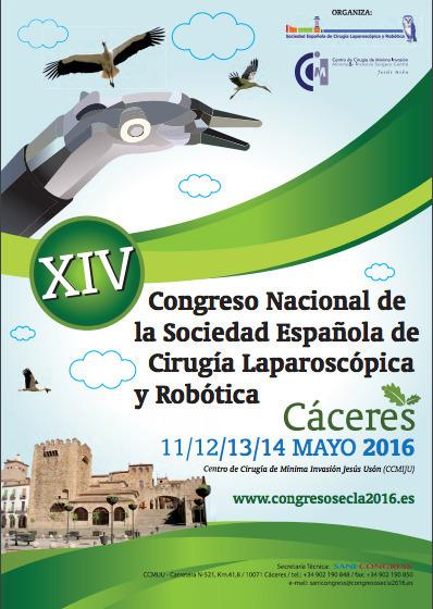 Éxito de participación en el xiv congreso nacional de la sociedad española de cirugía laparoscópica y robótica