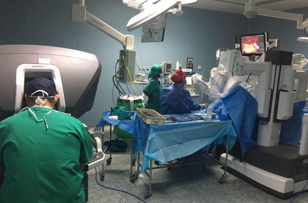 El gran avance de la cirugía robótica