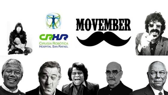 Cirugía Robótica San Rafael apoya la iniciativa Movember recordando a personas conocidas que han padecido cáncer de próstata