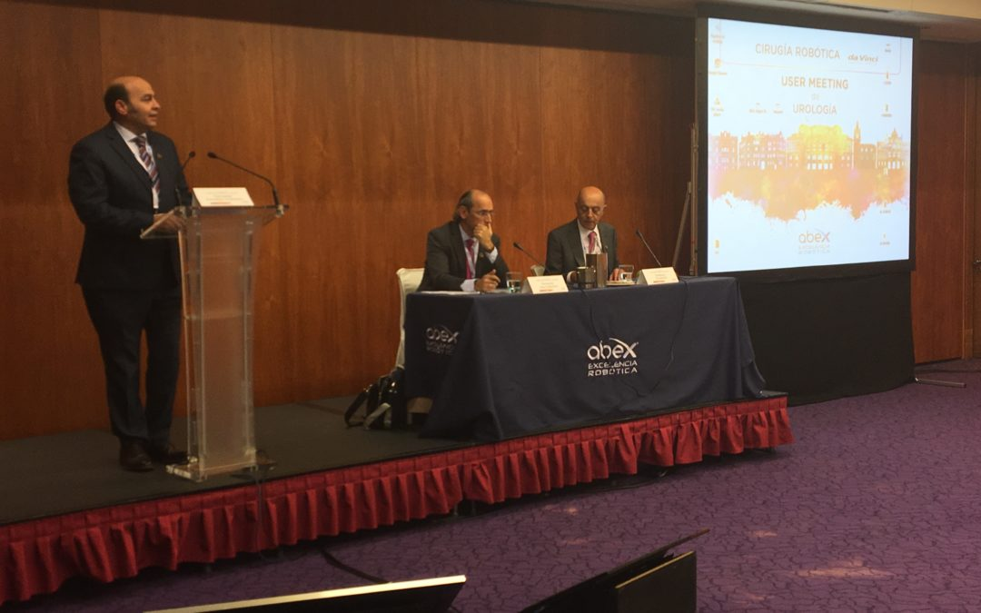 El Dr. González Chamorro participa en User Meeting organizado por Abex Excelencia Robótica