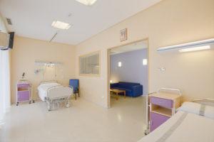 Hospitalización Cirugia Robotica