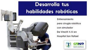 Curso Cirugia Robotica Da Vinci Header