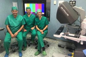 Equipo Cirugía Robótica