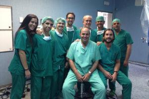 Equipo de Cirugía Robótica