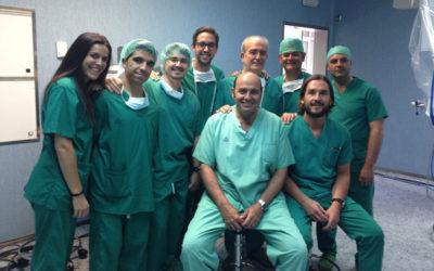 2018: un año de formación, divulgación y éxito en Cirugía Robótica San Rafael