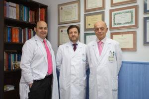 Equipo de Cirugía Robótica del Hospital San Rafael de Madrid