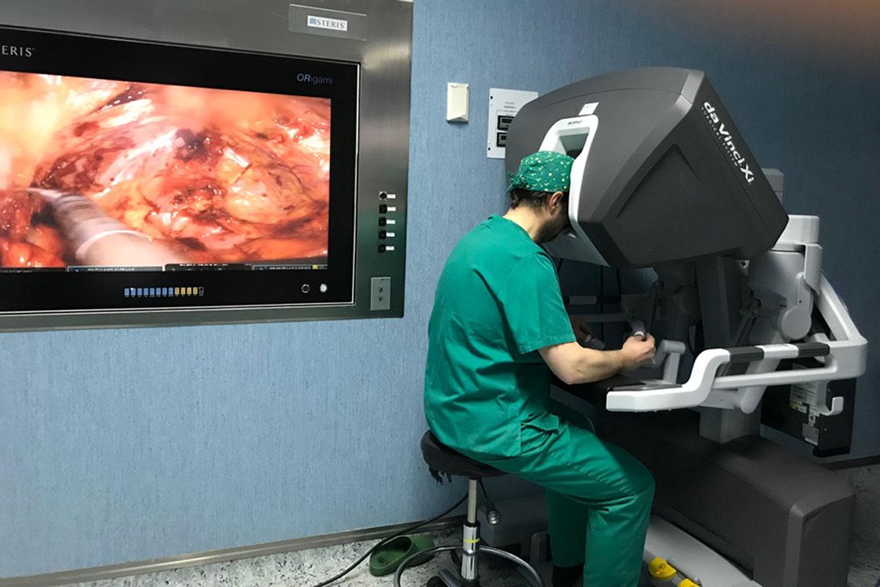 Cirugía Robótica con Da Vinci
