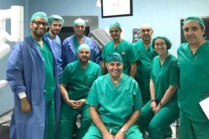 Equipo de Cirugía Robótica del Hospital San Rafael