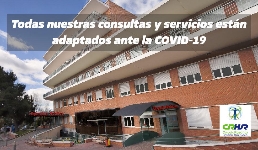 Consultas Cirugía Robótica frente a la COVID-19